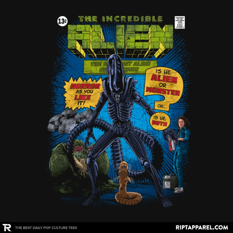 The Incredible Alien - RIPT Apparel