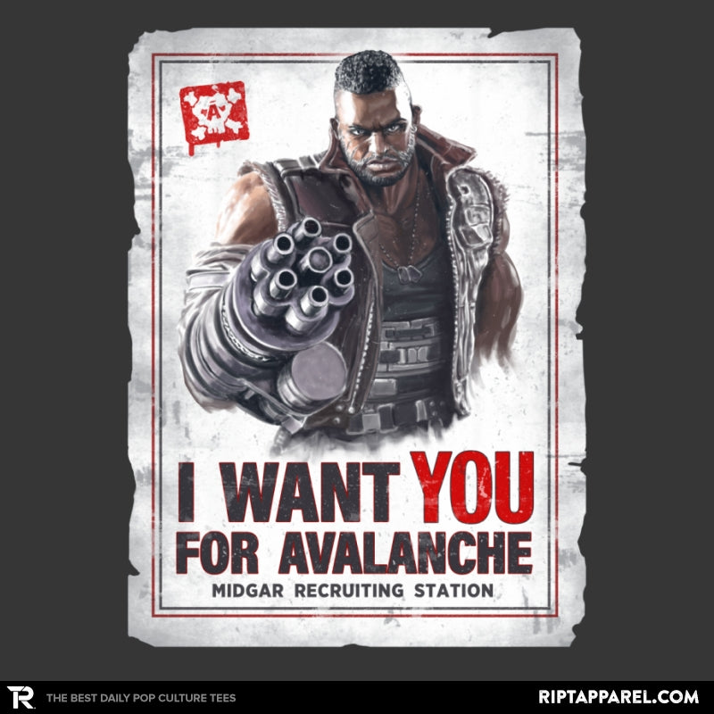 Avalanche Needs You - RIPT Apparel
