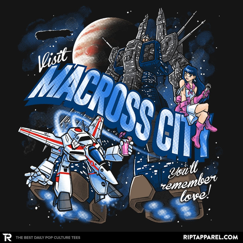 Visit Macross City Exclusive - RIPT Apparel