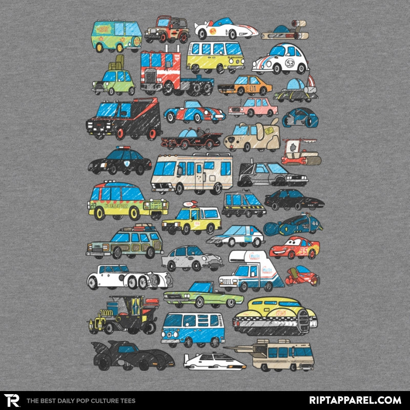 Famous Cars - Anytime - Collection Image - RIPT Apparel