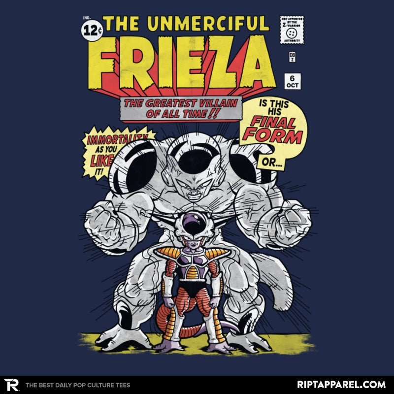 The Unmerciful Frieza - Collection Image - RIPT Apparel