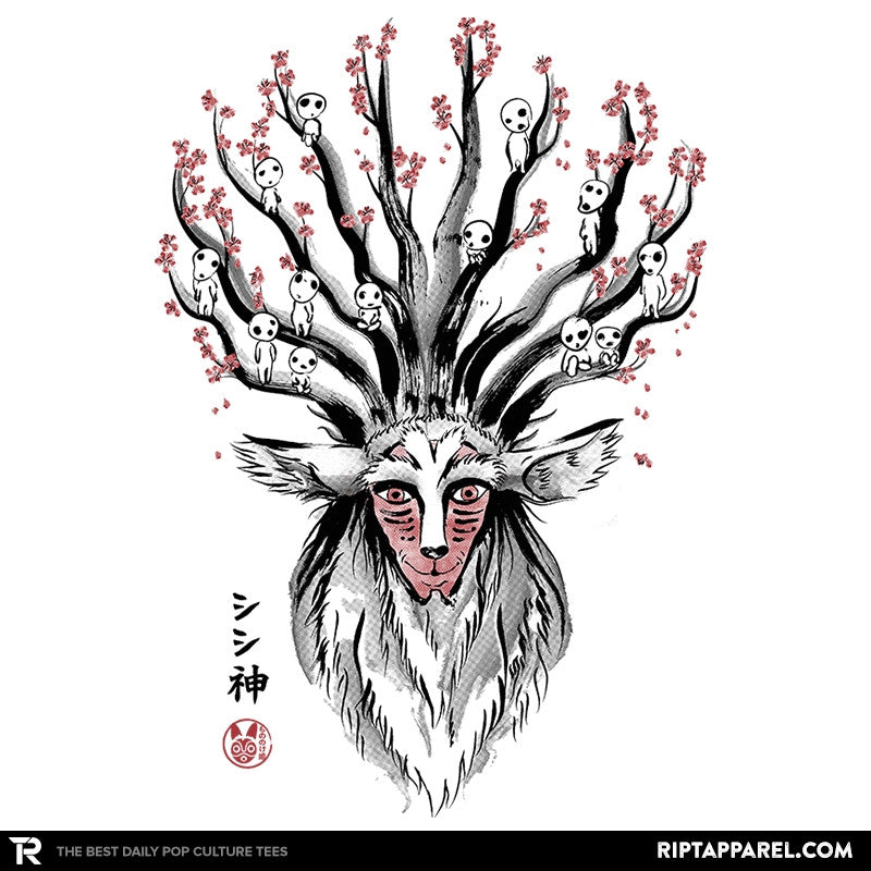 The Deer God Sumie - Sumi Ink Wars - RIPT Apparel
