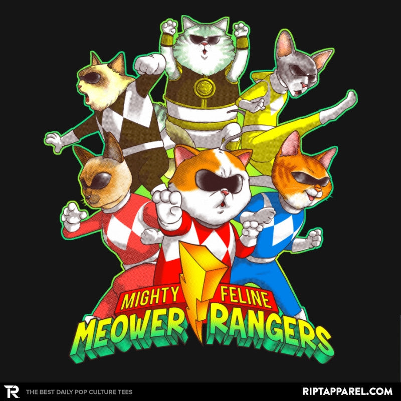 Meower Rangers - Collection Image - RIPT Apparel