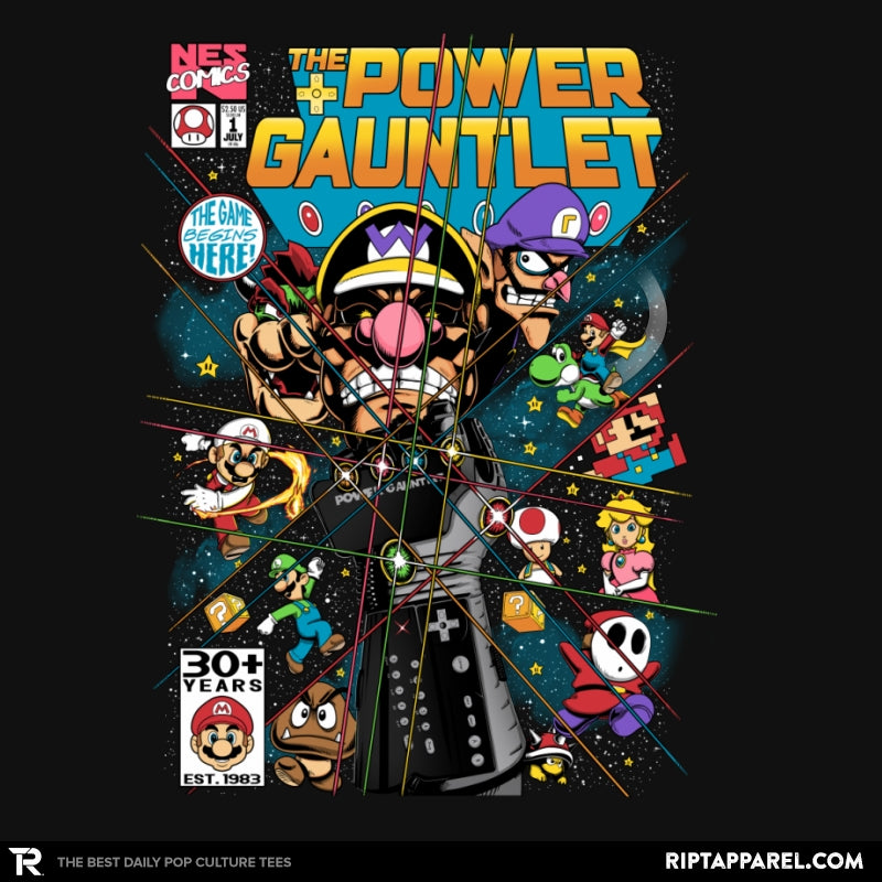 The Power Gauntlet Reprint - Collection Image - RIPT Apparel