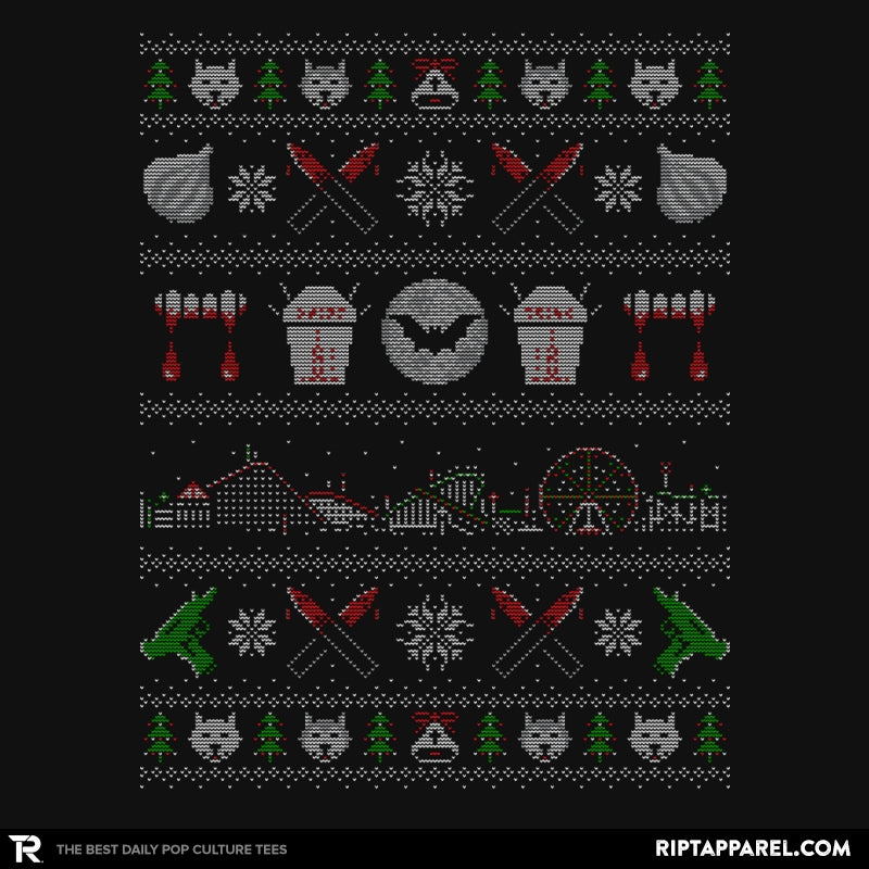 Xmas in Santa Carla - Ugly Holiday - RIPT Apparel