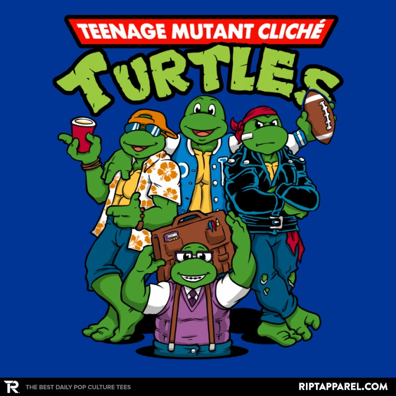 Cliché Turtles - Collection Image - RIPT Apparel