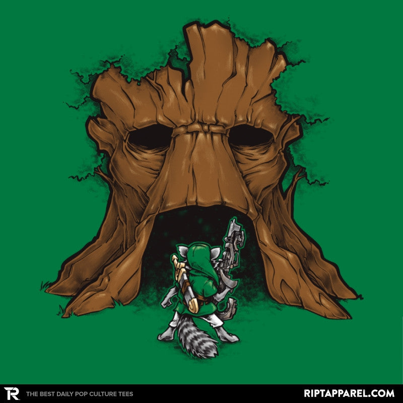 The Groot Deku Tree - Awesome Mixtees - RIPT Apparel