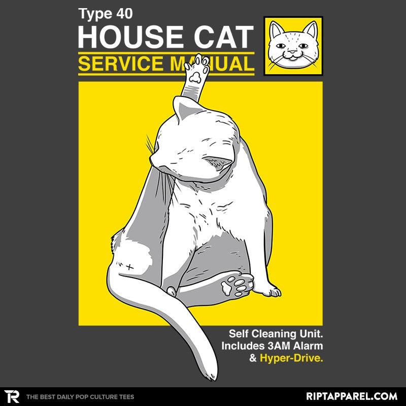 House Cat Service Manual Exclusive - Collection Image - RIPT Apparel