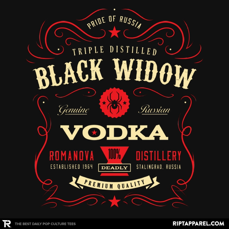 Black Widow Vodka - Collection Image - RIPT Apparel