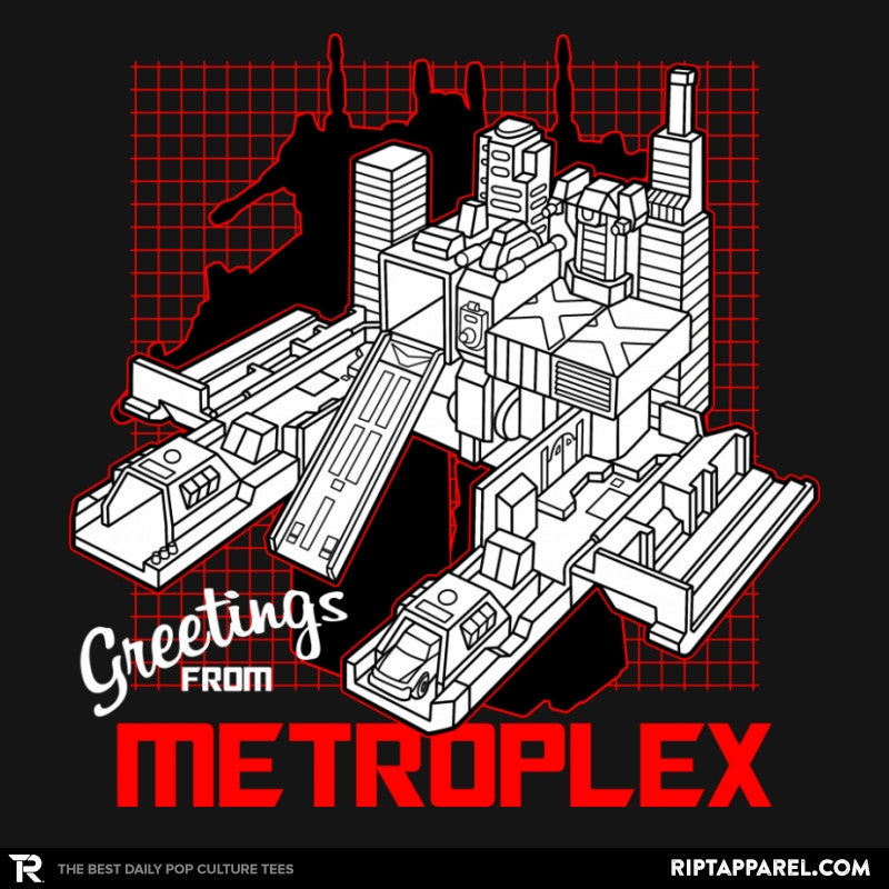 Greetings from the Metro Exclusive - Shirtformers - RIPT Apparel