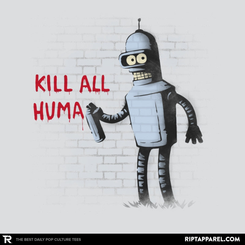 Kill All Humans - Gamer Paradise - RIPT Apparel