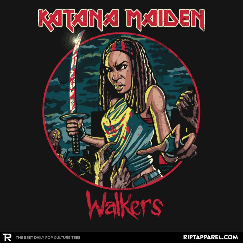 The Katana Maiden - Record Collector - Collection Image - RIPT Apparel