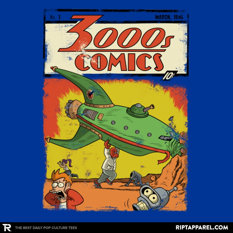 3000s Comics - Collection Image - RIPT Apparel