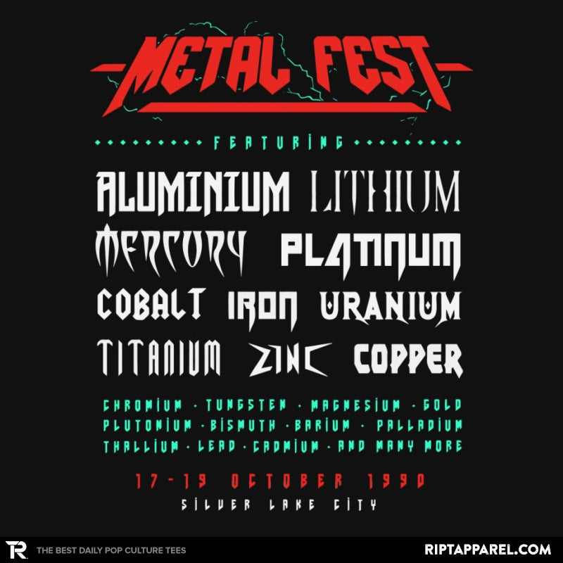 Metal Fest - RIPT Apparel
