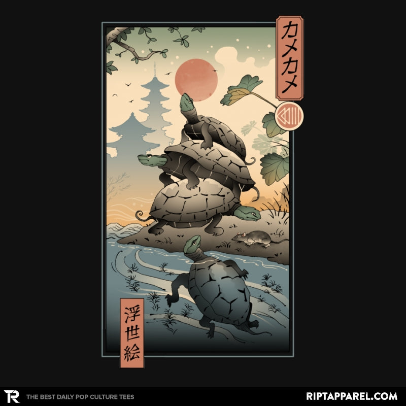 Kame Kame Ukiyo-e - Collection Image - RIPT Apparel