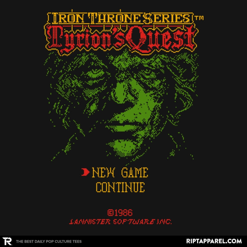 Tyrion's Quest - Game of Shirts - RIPT Apparel