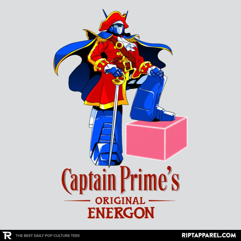 Captain P.'s Original Energon Exclusive - Shirtformers - RIPT Apparel