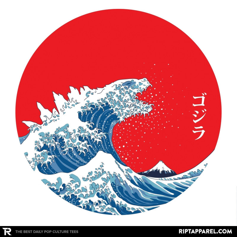 Hokusai Kaiju Reprint - Collection Image - RIPT Apparel