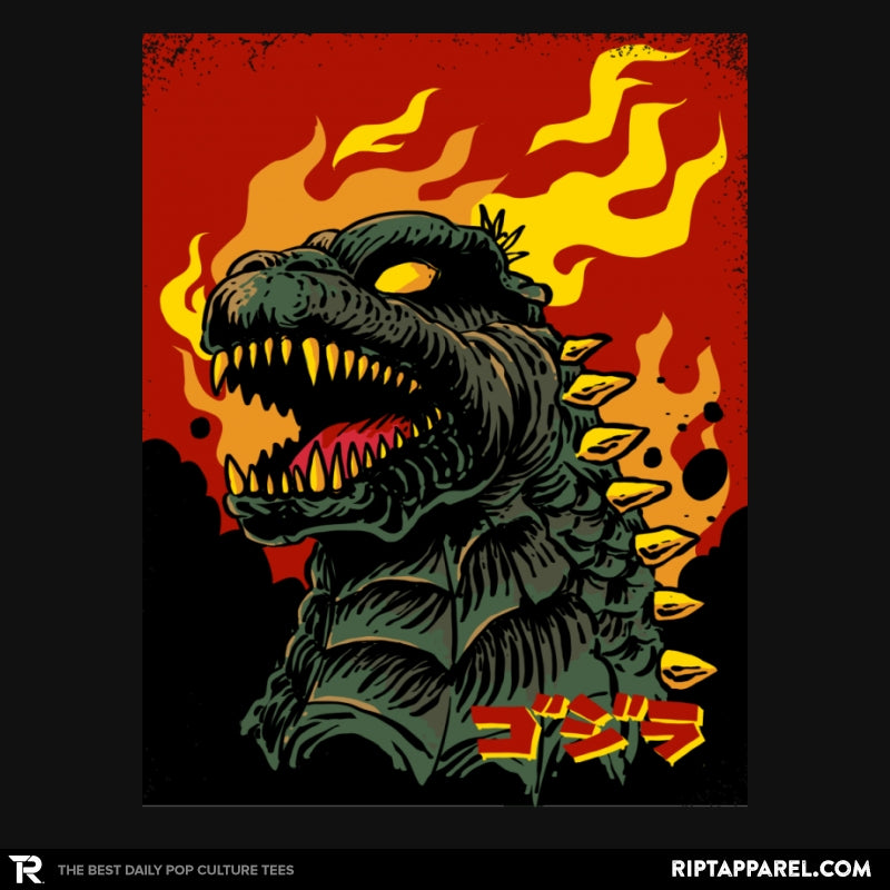 Godzilla on Fire - Collection Image - RIPT Apparel