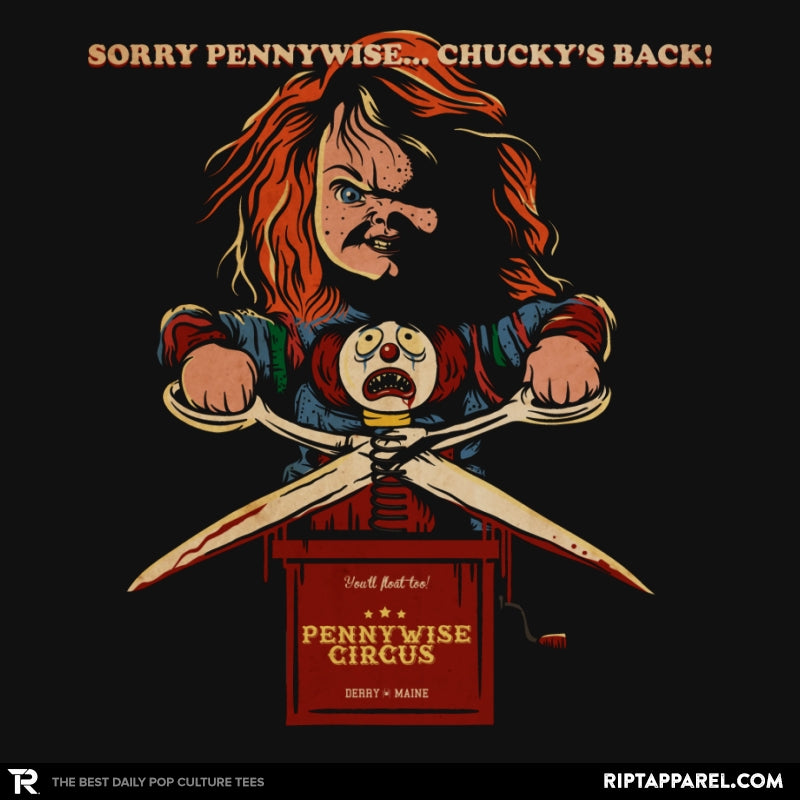 Sorry Pennywise... Chucky's Back! - Collection Image - RIPT Apparel