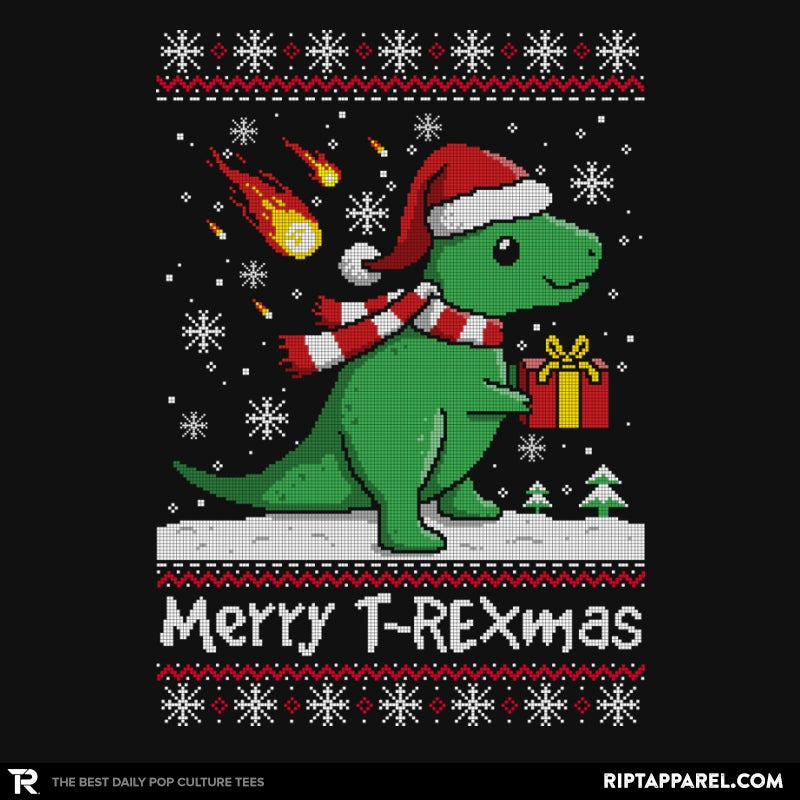 Merry T-Rexmas - Ugly Holiday - RIPT Apparel