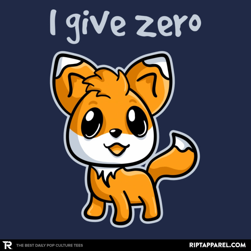 Zero Fox Given - Collection Image - RIPT Apparel