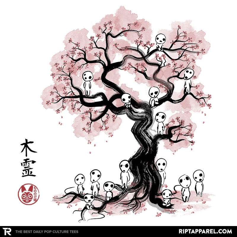 Forest Spirits Sumi-E - Sumi Ink Wars - Collection Image - RIPT Apparel