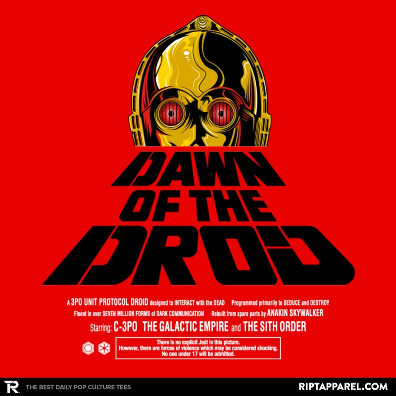 Dawn Of The Droid - Anytime - Collection Image - RIPT Apparel