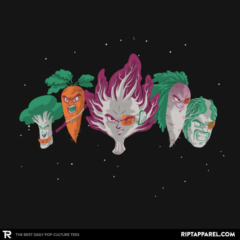 Space Veggie Warriors - Kamehameha Tees - RIPT Apparel