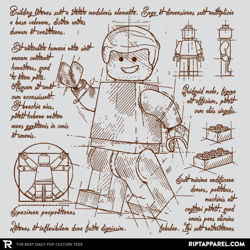 Minifigure Plan Exclusive - Brick Tees - Collection Image - RIPT Apparel