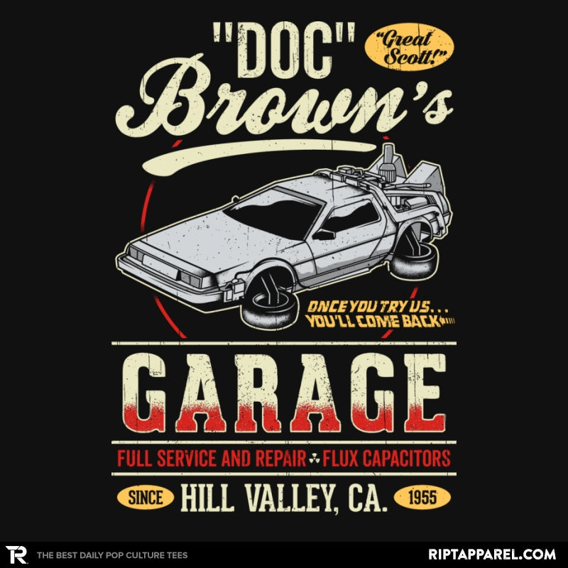 Doc Brown's Garage - Collection Image - RIPT Apparel