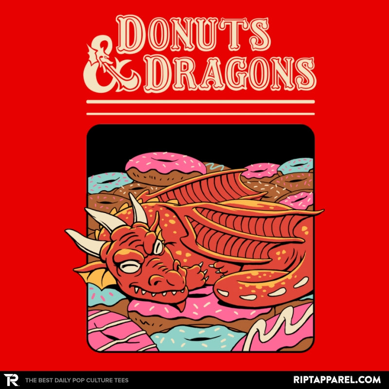 Donuts and Dragons - RIPT Apparel