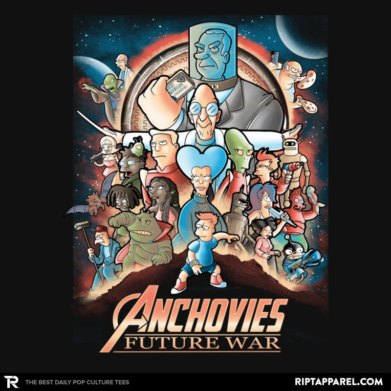 Anchovies Future War - Collection Image - RIPT Apparel
