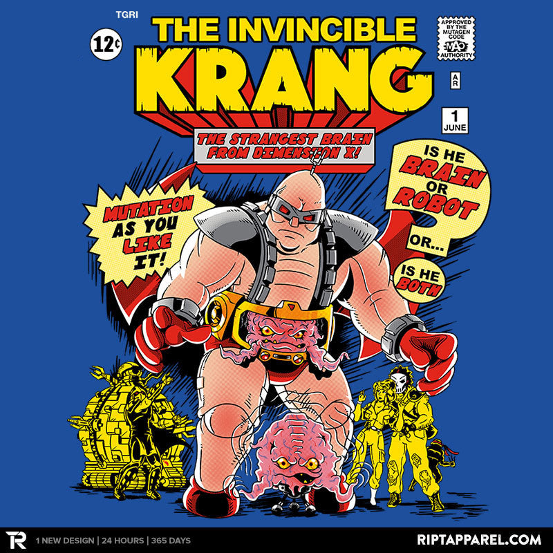 Invincible Krang Exclusive - Collection Image - RIPT Apparel