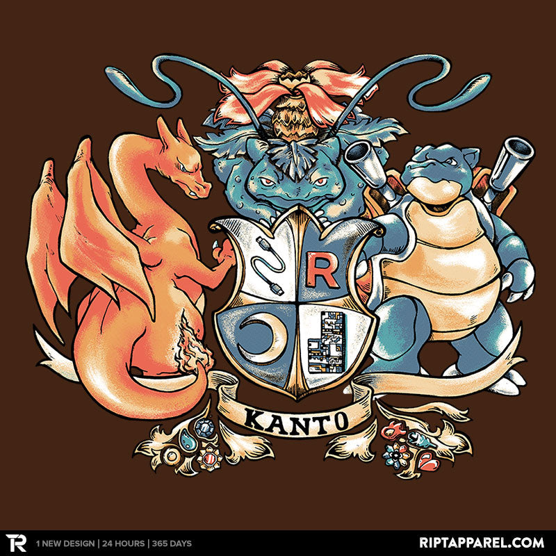 Kanto Coat of Arms - RIPT Apparel