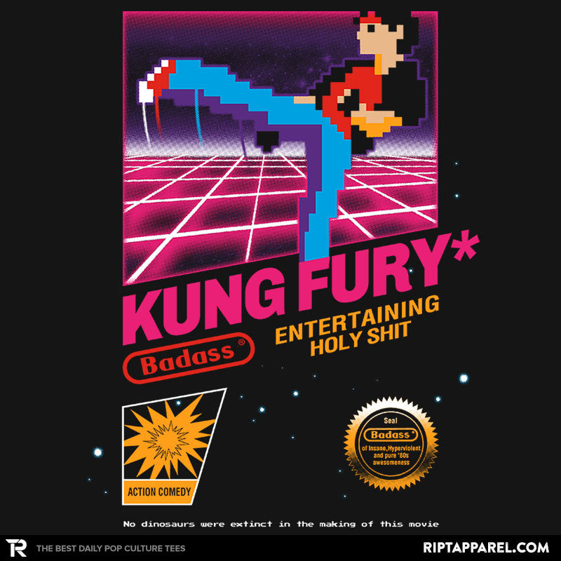 Kung Fu Retro Game - RIPT Apparel