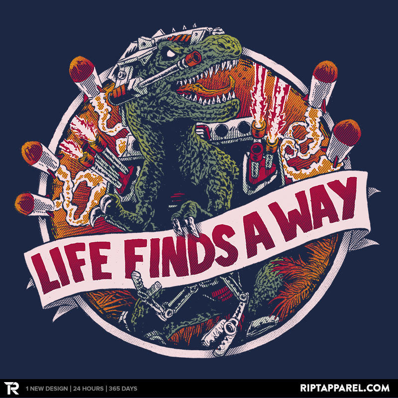 Life Finds A Way - Collection Image - RIPT Apparel