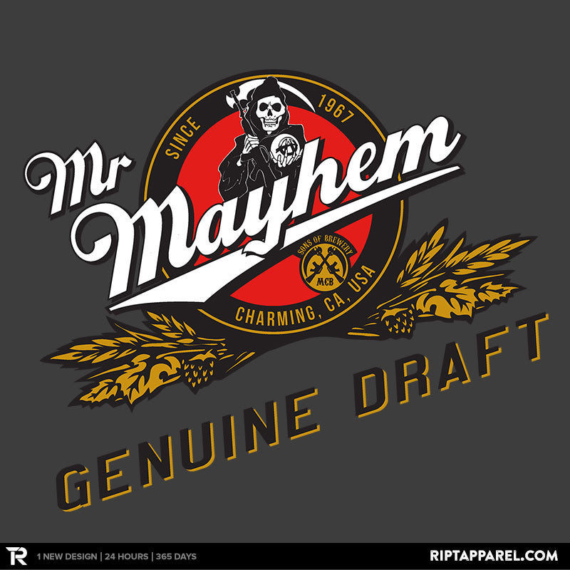 Mayhem Genuine Draft - Collection Image - RIPT Apparel