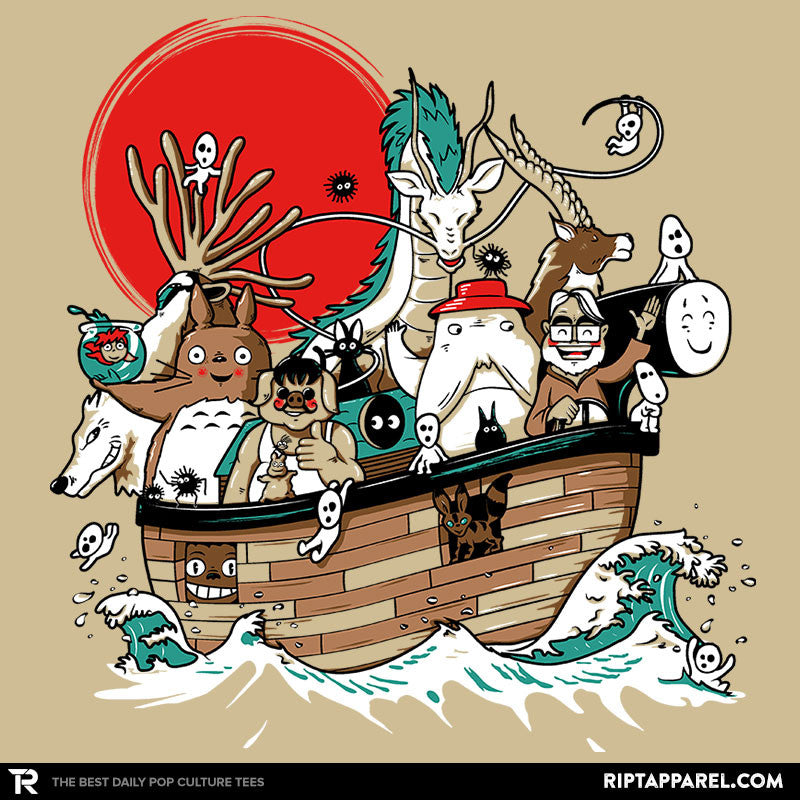 Miyazaki's Ark - Collection Image - RIPT Apparel