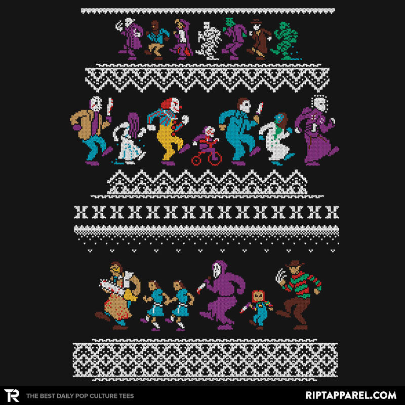 Monster Holiday Sweater - Collection Image - RIPT Apparel