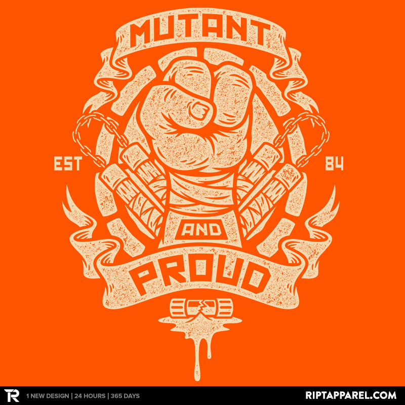 Mutant and Orange! - RIPT Apparel