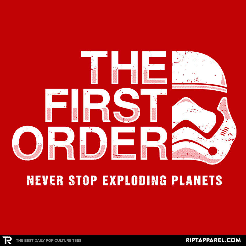 Never Stop Exploding Planets - RIPT Apparel