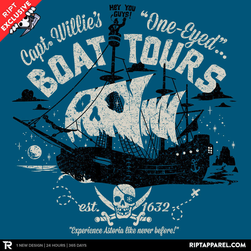 One-Eyed Boat Tours - RIPT Apparel