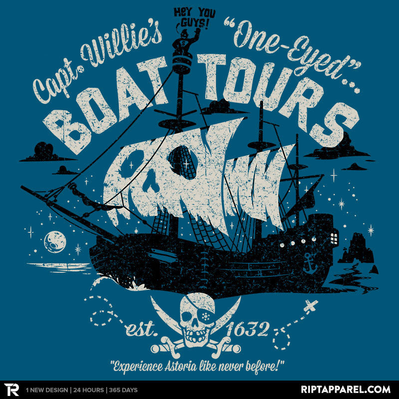 One-Eyed Boat Tours Exclusive - Collection Image - RIPT Apparel