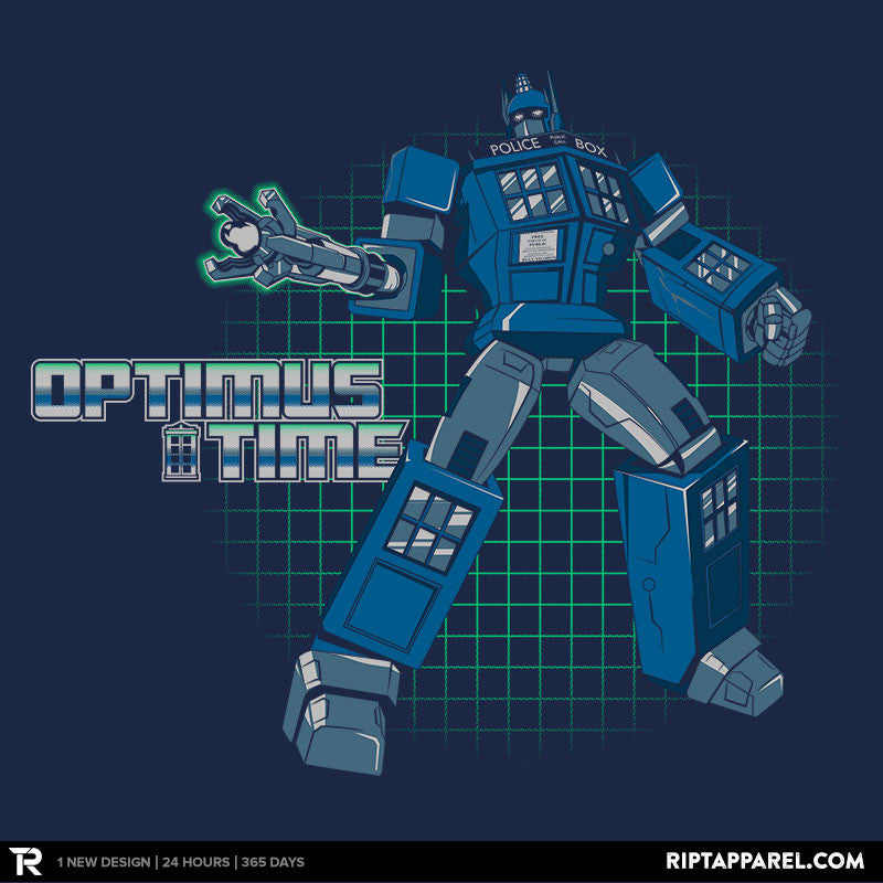 Optimus Time - Collection Image - RIPT Apparel