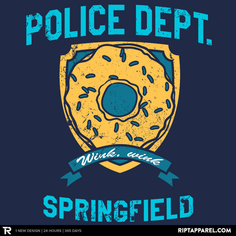 Police Dept. of Springfield - RIPT Apparel