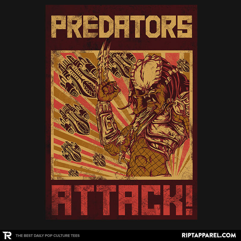 Predators Attack! - RIPT Apparel