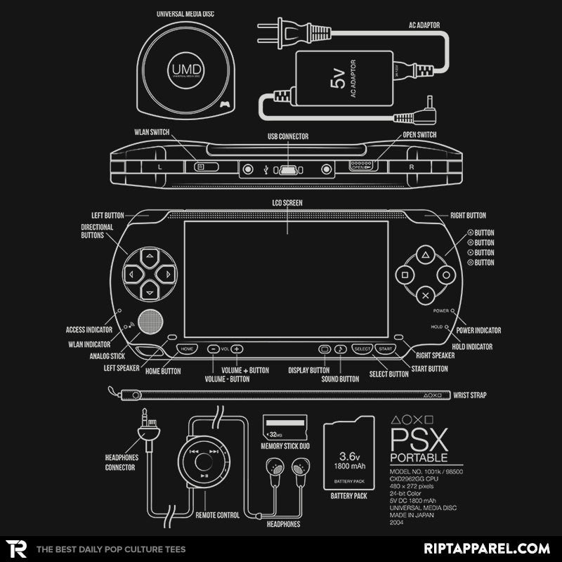 PSX Portable - Collection Image - RIPT Apparel