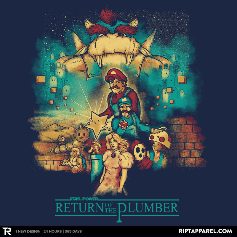 Return of the Plumber - RIPT Apparel