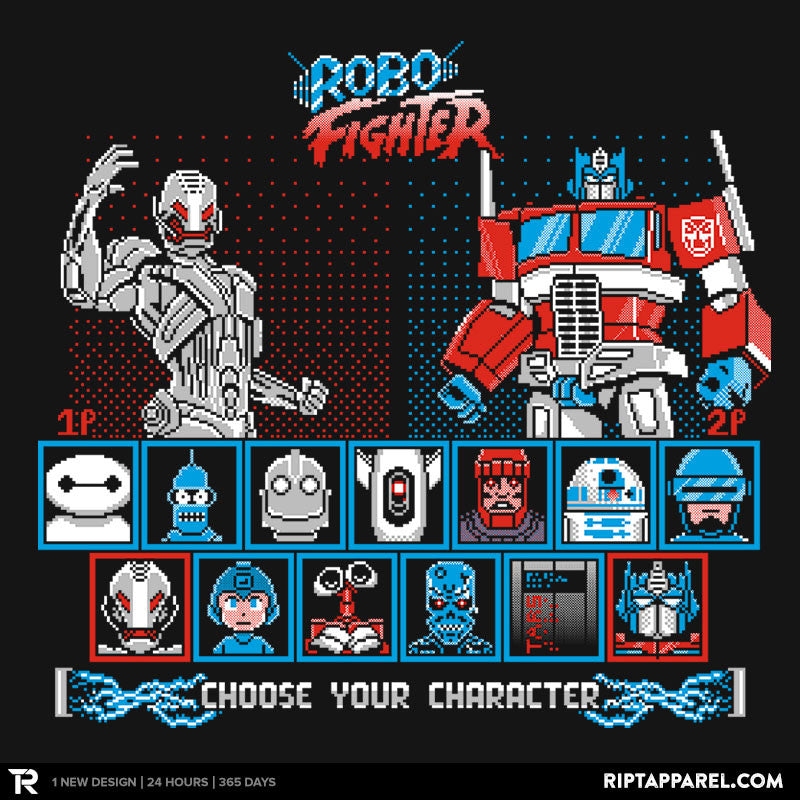 Robo Fighter - RIPT Apparel